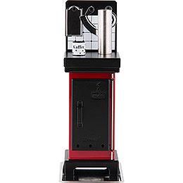 Incense Cone Stove Red/Black  -  19cm / 7.5 inch