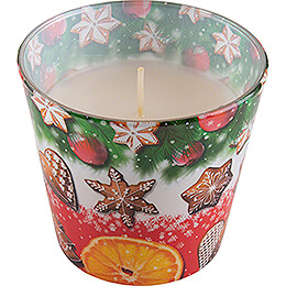 JEKA Scented Candle  -  Christmas Flavours  -  Christmas Cookies  -  8,1cm / 3.2 inch