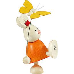 Kaninchen Emma mit Schmetterling  -  9cm