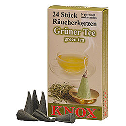 Knox Räucherkerzen  -  Grüner Tee