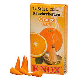 Knox Räucherkerzen  -  Orangenduft