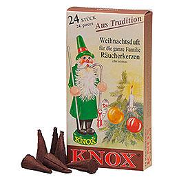 Knox Räucherkerzen  -  Weihnachtsduft
