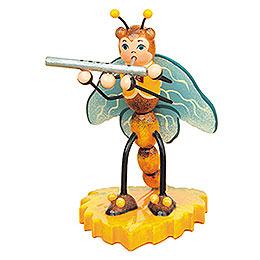 Libelle mit Querflöte  -  8cm