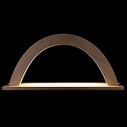 Lichterbogen Ahorn natur  -  42x23x11cm