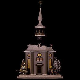Lichterhaus Carlsfelder Kirche  -  45cm