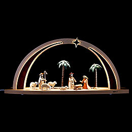 Light Arch  -  Nativity Scene LED  -  60x25x11cm / 23.6x9.8x4.3 inch