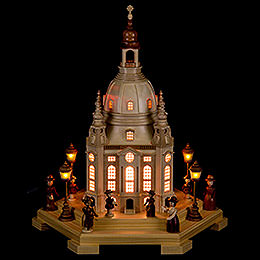Light House Church of Our Lady Dresden 230 V  -  24x21x28cm / 9.4x8.3x11 inch