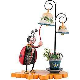 Marienkäfer mit Glockenspiel  -  8cm