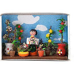 Matchbox  -  Flower Market  -  4cm / 1.6 inch