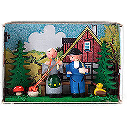 Matchbox  -  Grandparents  -  4cm / 1.6 inch
