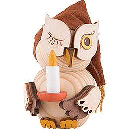 Mini Owl Bedcap  -  7cm / 2.8 inch