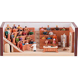 Miniature Room  -  Lecture Hall  -  4cm / 1.6 inch