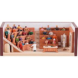 Miniaturstübchen Hörsaal  -  4cm