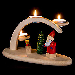 Modern Light Arch  -  Santa  -  25x13x10cm / 9.8x5.1x3.9 inch