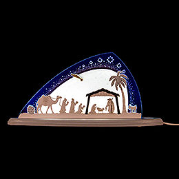 "Motive Light ""Nativity""  -  47x22cm / 18.5x8.7 inch"