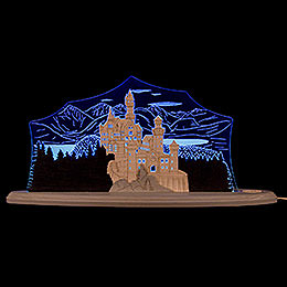 "Motive Light ""Neuschwanstein Castle""  -  47x21,8cm / 3.1 inch"