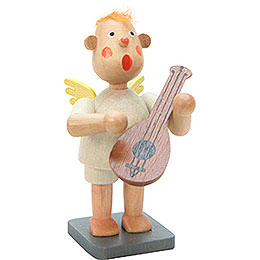 Music Bengelchen with Lute  -  6,5cm / 3 inch