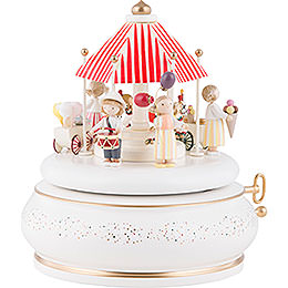 "Music Box ""Children's Fair""  -  18cm / 7.1 inch"