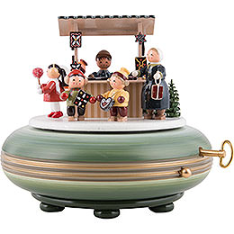 Music Box Christmas Fair  -  16cm / 6 inch