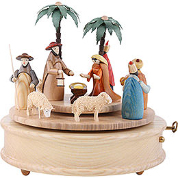 Music Box Crib Colourful  -  23cm / 9 inch