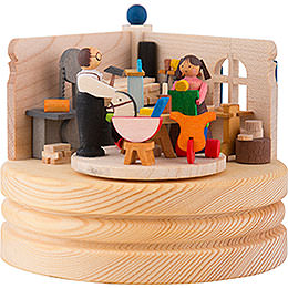 Music Box Toy Maker Workshop  -  8,5cm / 3.3 inch