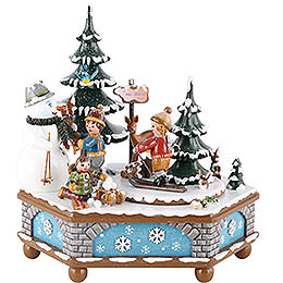 Music Box Wintertime  -  20cm / 8 inch