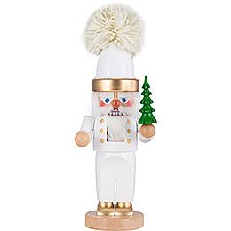 Nussknacker Chubby Weisser Weihnachtsmann  -  35,5cm