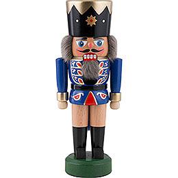 Nussknacker König dunkelblau  -  21cm