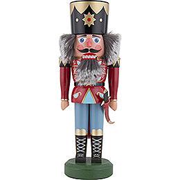 Nussknacker König rot  -  33cm