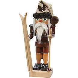 Nussknacker Skifahrer natur  -  25,5cm