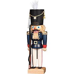 Nussknacker Soldat blau  -  30cm