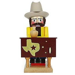 Nussknacker Texaner mit Musik  -  31cm