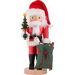 Nussknacker Weihnachtsmann mit Sack  -  41cm