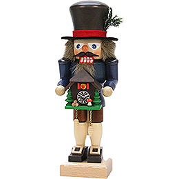 Nutcracker  -  Black Forester with Cuckoo Clock  -  27,0cm / 10.6 inch