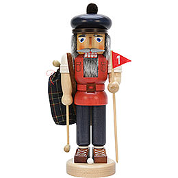 Nutcracker  -  Golf Player Glazed  -  37,5cm / 14.8 inch