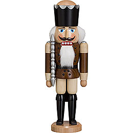 Nutcracker  -  King  -  Ash  -  Braun  -  38cm / 15 inch