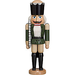 Nutcracker  -  King  -  Ash  -  Green  -  38cm / 15 inch