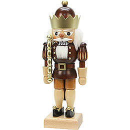 Nutcracker  -  King Natural Colors/Gold  -  26,5cm / 10 inch