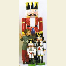 Nutcracker  -  King Red  -  180cm / 71 inch