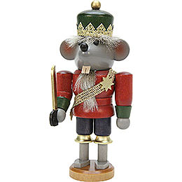 Nutcracker  -  Mouse King Glazed  -  17cm / 7 inch