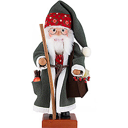Nutcracker  -  Santa Flowers  -  49cm / 19.3 inch
