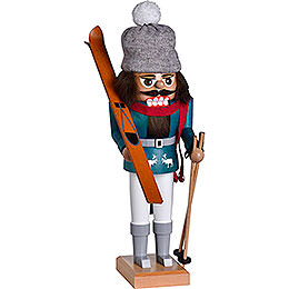 Nutcracker  -  Skier  -  30cm / 11.8 inch