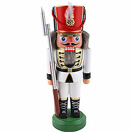 Nutcracker  -  Soldier, White  -  22cm / 8.6 inch