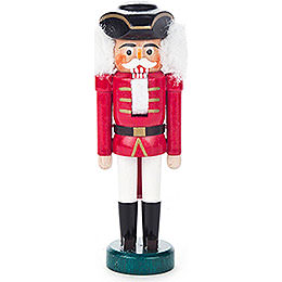 Nutcracker  -  with Tricorn Red - White  -  13cm / 5.1 inch
