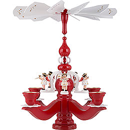 Pyramid Candle Holder  -  Angels  -  46cm / 18 inch