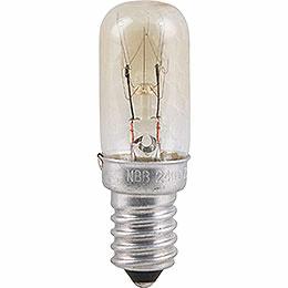 Radioröhrenlampe  -  Sockel E14  -  120V/7W