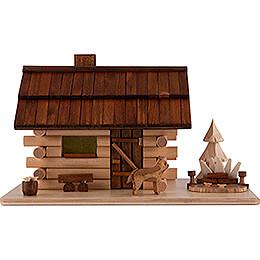 "Räucherhaus ""Garten - Blockhaus""  -  10,5cm"