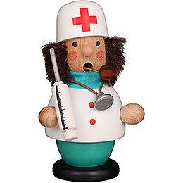 Räuchermännchen Arzt  -  12cm