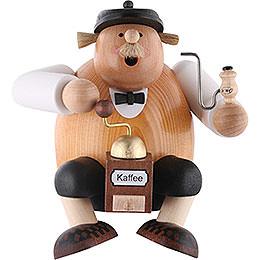 Räuchermännchen Kaffeesachse  -  Kantenhocker  -  15cm