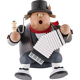 Räuchermännchen Musiker  -  Kantenhocker  -  16cm